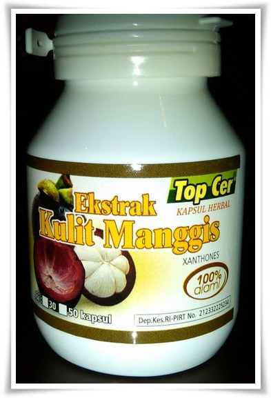 ekstrak herbal kulit manggis